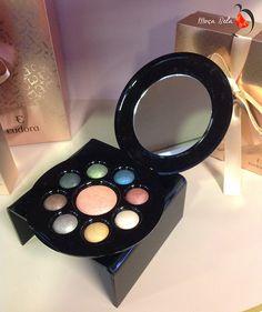 Precious Pallete Estojo de Maquiagem BAKED. 8 sombras e blush. (20797) - Eudora Mais Informações: www.facebook.com/DixxyLojaVirtual ou via WhatsApp 81 9 9936.6199