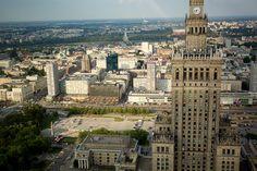 Warsaw seen from 50th floor of ZŁOTA 44 #view#Warsaw#Złota44#city