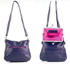 Sticks and Stones, Cannes Bag, Purple