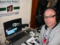 """Marc Willis of """"Music Hut Radio 1""""  hello """"yes"""" it's Marc Willis ......who i hear in the morning's on UNIR1"""