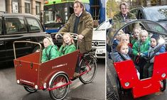 This week one Londoner was pictured taking his children to school in a kind of bike crossed with a wheelbarrow, but how safe are the £1,000 'cargo bikes?'