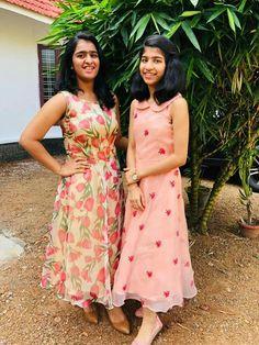 56 Ideas For Vintage Women Tattoo Design Frock Patterns, Kids Frocks Design, Stitching Dresses, Churidar Designs, Frock For Women, Frock Design, Pakistani Dress Design, Indian Dresses, Indian Outfits
