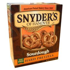 Snyder's of Hanover - Sourdough Hard Pretzels