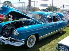 1947 to 1955. Kaiser's passenger car.  My uncle had a Kaiser and that is what I learned to drive on and took driving tests on it also back in the late 50's.  DK