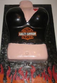 Harley Davidson Cake - Charlotte, NC
