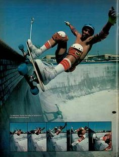 Steve Alba Upland Combi Pool October 1979 Seek And Destroy, Skate And Destroy, Old School Skateboards, Vintage Skateboards, Skateboard Photos, Skateboard Decks, Really Hot Guys, Z Boys, Rolling Thunder
