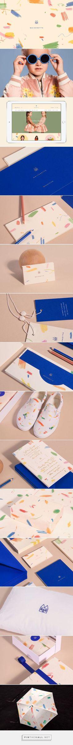 Maisonette Children's E-tailer Branding by Lotta Nieminen | Fivestar Branding Agency – Design and Branding Agency & Curated Inspiration Gallery #branding #brand #design #designinspiration
