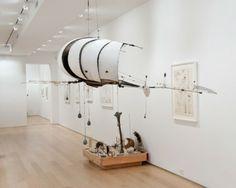 Lee Bontecou, Recent Work: Sculpture and Drawing (Installation Shot); FreedmanArt, New York