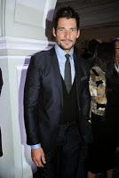 David Gandy Attends Claridge's Christmas Tree Party ~ David James Gandy
