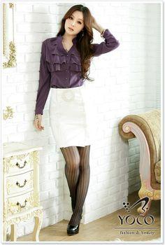 Wholesale Skirt J5162 White [Skirt J5162 White] - $10.80 : YOCO - Wholesale Clothing,Wholesale Dresses Fashion,Wholesale Japanese and Korean Fashion.