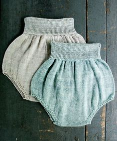 Free Pattern: Baby Bloomers by Purl Soho
