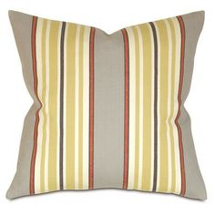 Thom Filicia Home Collection Lauderdale Cotton Throw Pillow Color: