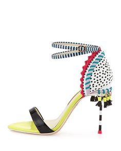 Sophia Webster Solange Tassel-Fringe Sandal