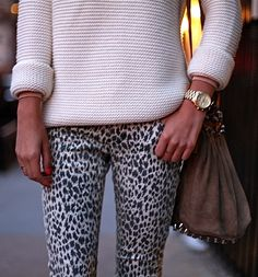 animal print pants out of control