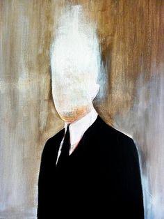 #faceless #painting #TheMyhtOfSisyphus