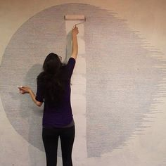 Art has healing powers. 🌈 // Artist Shannon May Mackenzie drew thousands of tick marks on a wall. Within those tick marks were sentences. They told the story of her rape. ⠀ ⠀ See more 👇 ⠀