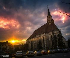 Apus de soare Cologne, Romania, Cathedral, Sunset, Building, Photography, Travel, Pictures, Voyage