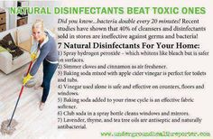 Natural Disinfectants