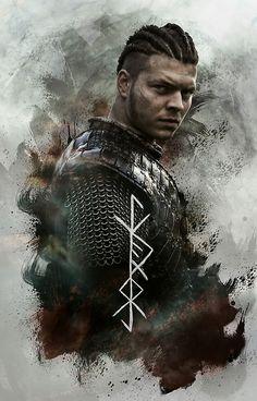"Ivar ""The Boneless"" Lothbrok Ivar Vikings, Vikings 2, Vikings Tv Series, Vikings Tv Show, Ragnar Lothbrok Vikings, Lagertha, Viking Art, Viking Warrior, Ivar Ragnarsson"