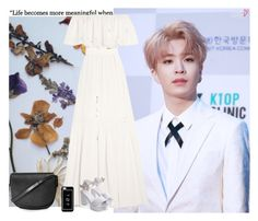 """""""""""Perfect""""    Youngjae"""" by joanaamarinho ❤ liked on Polyvore featuring Temperley London, Hot Topic and Topshop"""