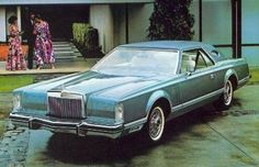 1979 Pucci Designer Edition. Lincoln Continental, Lincoln Motor Company, Ford Motor Company, Retro Cars, Vintage Cars, Ford Lincoln Mercury, American Classic Cars, Us Cars, Future Car