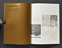 Annual report - Craft Victoria by Anders Bakken, via Behance