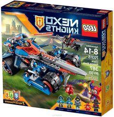 Lego Nexo Knights Конструктор Устрашающий разрушитель Клэя 70315
