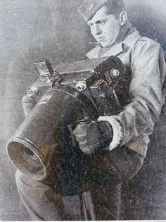 Giant Air Force Camera Kodak K-24 US Air Force Camera with Aero-Ektar f2.5, 178 mm, 5x5 lens