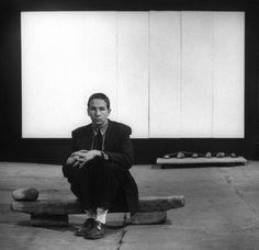 ROBERT RAUSCHENBERG. White Painting. 1951.