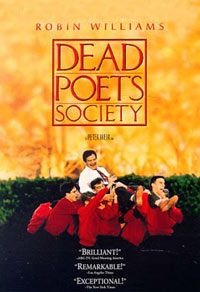 Dead Poets Society *Drama by Peter Weir -- starring Robin Williams, Robert Sean Leonard, & Ethan Hawke Robin Williams, 80s Movies, Great Movies, Amazing Movies, Zombie Movies, Cult Movies, Comedy Movies, See Movie, Movie Tv