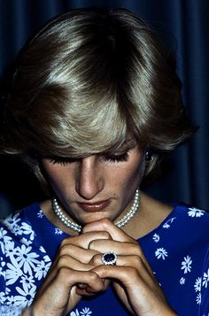 Lady Diana Spencer Chose Her Iconic Engagement Ring From A Selection Presented By Royal Jeweller Garrard At Windsor Castle In February It Was One Of Dozen
