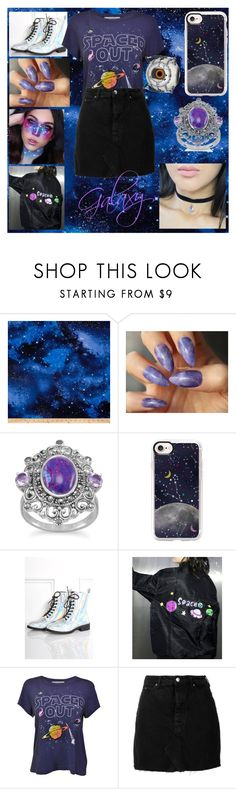 """Vintage Galaxy Trend"" by tristful-fernweh ❤ liked on Polyvore featuring Casetify, Wildfox, IRO and vintage"