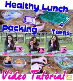 Got TEENS? 16 year old shares school lunch recipes packed in @easylunchboxes