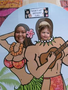 Hawaiian Luau Birthday Party Ideas | Photo 1 of 4 | Catch My Party
