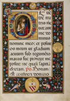 Medieval Manuscript, Medieval Art, Illuminated Letters, Illuminated Manuscript, Virgo, Initial D, Google Art Project, Book Letters, Getty Museum
