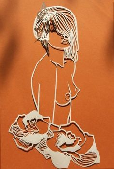 paper cutting imagery