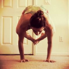 Bakasana, yoga pose, crow pose, strength & perseverance This is me