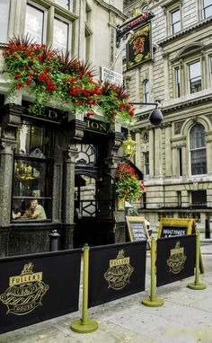 Red Lion Ale & Pie House - Parliament Street, City of Westminster, London, UK | A stone's throw from Number 10, the London Eye and Big Ben. It's been the favoured watering hole for the political elite for centuries.