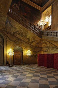 L'Hôtel de Ville de Lyon, l'escalier