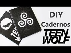 DIY: Cadernos Personalizados TEEN WOLF - YouTube