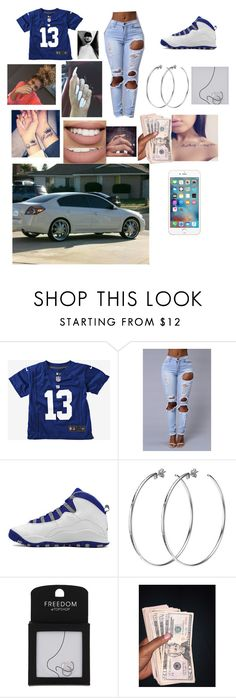 """""""Odell Beckham JR."""" by lucascolywiffeeyyy ❤ liked on Polyvore featuring Retrò, DKNY, Topshop and Sephora Collection"""