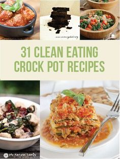 25 Clean Eating Crock Pot recipes!!!  I busted out my crock pot this week for some meal prep and it was so easy and simple to use.  I need to try some of these recipes now!!
