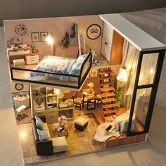 Barbie Puppenhaus Miniatur Puppenhaus montieren diy Holzhaus Spielzeug mit Möb … Barbie dollhouse miniature dollhouse assemble diy wooden house toy with furniture … – Layouts Casa, House Layouts, Dorm Room Layouts, Awesome Bedrooms, Cool Rooms, Cool Bedroom Ideas, Sims House, Sims 4 House Plans, Aesthetic Rooms