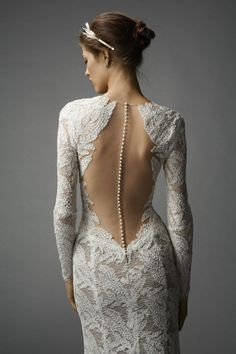 Watters Aziza Gown #watters #weddingdress #spring2015