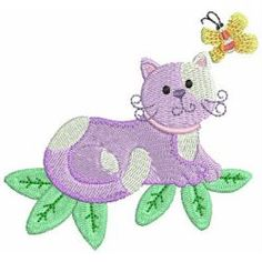 Cuddly Cats 03 machine embroidery designs