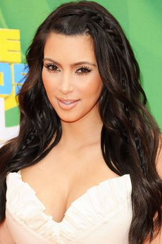 Kim Kardashian's braids. See it and 23 other wedding-ready hairstyles.