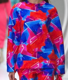 patternprints journal: PRINTS, PATTERNS AND SURFACES FROM LONDON FASHION WEEK (WOMAN COLLECTIONS SPRING/SUMMER 2015) / Roksanda Ilincic