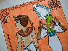 Egyptian Art - Art History Lesson Plans and Ideas
