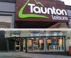 Taunton Leisure, Taunton, Somerset  Products available include: tents, sleeping bags, footwear, clothing, rucksacks, bags, climbing gear, cooking, lighting, navigation, watches and accessories.