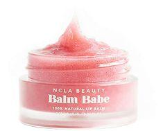 Shop for NCLA Balm Babe Natural Lip Balm in Pink Champagne at REVOLVE. Natural Lip Balm, Natural Makeup, Beauty Balm, Pink Champagne, Makeup Products, The Balm, The 100, Babe, Lips